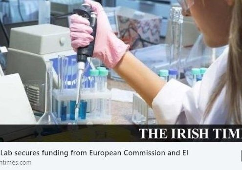 Irish Times reports on T.E. Laboratories